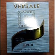 """Подарочный набор """"Versale Epos""""для женщин (туалетная вода 100мл и дезодорант аэрозольный 75мл) /Абар"""