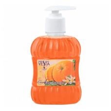 """0268/178 Мыло жидкое """"Vesta"""" (Веста) апельсин дозатор 315мл.Алва."""