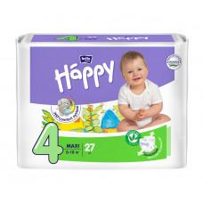 Подгузники для детей bella baby Happy (Белла хэппи бейби) , размер Maxi, 8-18 кг, 27 шт.