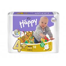 """Подгузники гигиенические для детей под товарным знаком """"bella baby Happy"""" (Белла хэппи бейби) MAXI PLUS по 12 шт. вес 9-20 кг"""