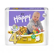 Подгузники для детей bella baby Happy (Белла хэппи бейби) , размер Maxi Plus, 9-20 кг, 25 шт.