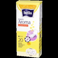 Ультратонкие женские гигиенические ежедневные прокладки bella PANTY(Белла Панти) aroma energy по 20 шт.