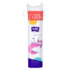 Подушечки из ваты bella 100% хлопок(ватные диски Белла) , круглые 120 шт.