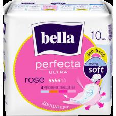 Гигиенические супертонкие прокладки bella Perfecta Ultra Rose deo Fresh 10 шт. Купить в Волгограде, в Москве