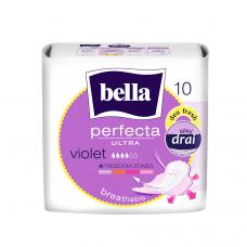 """Супертонкие женские гигиенические впитывающие прокладки марки """"bella"""" Perfecta ultra Violet deo fresh по 10 шт"""