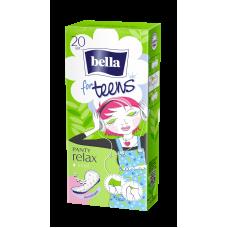"""Ультратонкие женские гигиенические ежедневные прокладки bella PANTY под товарным знаком """"bella for teens"""" (Белла фо тинс) в исполнении: relax deo по 20шт."""