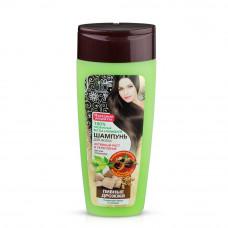 Шампунь «Народные рецепты» для всех типов волос «Пивные дрожжи» с шишками хмеля и солодом, 270мл/Фитокосметик