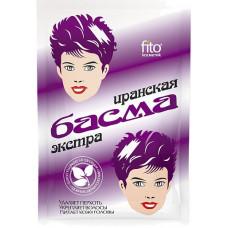 Басма натуральная иранская, в бумажной упаковке, 25г/ Фитокосметик