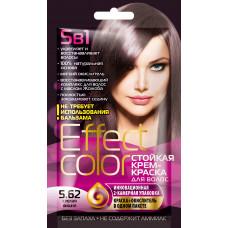 Cтойкая крем-краска для волос серии «Effect Сolor» 50мл, тон 5.62 спелая вишня/Фитокосметик
