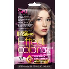 Cтойкая крем-краска для волос серии «Effect Сolor» 50мл, тон 3.3 горький шоколад/Фитокосметик