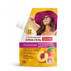 Солнцезащитный крем для лица и тела серии «Народные рецепты» Мультивитаминный 50 SPF, 50мл/Фитокосметик