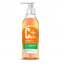 Гель-energizer для умывания серии «C+Citrus» для сияния кожи, с омолаживающим комплексом AntiagEnz 240мл/Фитокосметик