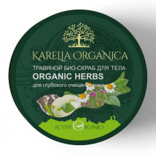 "422301Био-скраб ""Karelia"" для тела «Organic Herbs» травяной 220 мл"