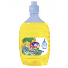 """Моющее средство для посуды """"Минута""""лимон 500мл./Альфатехформ"""