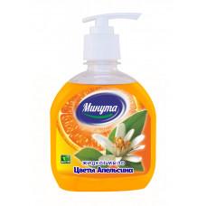 """Мыло жидкое. """"Минута""""Цветы апельсина 300 грамм дозатор/Альфатехформ"""