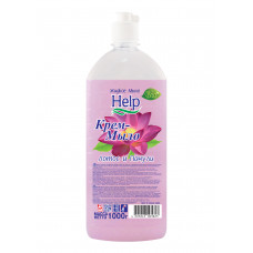 """Крем-мыло жидкое. """"Help"""" (Хелп) Лотос-пачули 1 литр/Альфатехформ"""