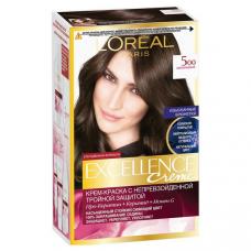 """L'Oreal Paris (Лореаль) Стойкая крем-краска для волос """"Excellence"""" (Экселанс), оттенок 5.00, Шоколадный"""