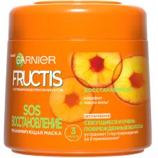 """Garnier Fructis Маска для волос """"Фруктис, SOS Восстановление"""", реанимирующая, для секущихся и поврежденных волос, 300 мл"""
