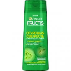"""0670 Garnier Fructis Очищающий Шампунь для волос """"Фруктис, Огуречная Свежесть"""", укрепляющий, для волос, склонных к жирности, 250 мл"""