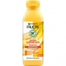"""0500 Garnier Fructis (Фруктис) шампунь """"Банан Superfood Питание"""" для очень сухих волос, 350 мл"""