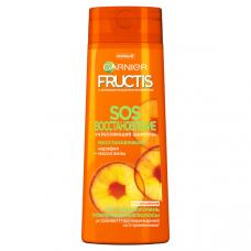 """5774 Garnier Fructis Восстанавливающий Шампунь для волос """"Фруктис, SOS Восстановление"""", для секущихся и очень поврежденных волос, 400 мл"""