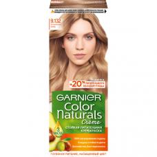 """Garnier (Гарньер) Стойкая питательная крем-краска для волос """"Color Naturals"""" (Колор Нэчралс) с 3 маслами, оттенок 9.132, Натуральный блонд, 110 мл"""