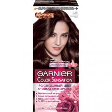 """Garnier (Гарньер) Стойкая крем-краска для волос """"Color Sensation (Колор Сенсейшнл), Золотой Топаз"""", 4.03, Шоколадный Топаз, 110 мл."""