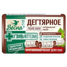 """1784 Мыло""""Дегтярное""""90г./Весна/"""