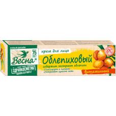 """2318 Крем""""Облепиховый""""для лица витаминный 40мл/Весна/"""