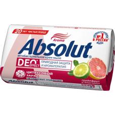 "6160 Мыло-крем""Абсолют"" Absolut грейпфрут и бергамот 90г"