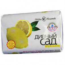 10175 Туалетное мыло «Лимон» (серия «Дивный Сад») 90 г  /Невская Косметика/