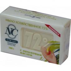 11144 Хозяйственное мыло «72%» с пальмовым маслом 180г   /Невская Косметика/