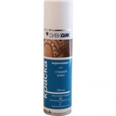 2257 Краска коричневая для гладкой кожи Дивидик, 250 мл