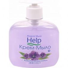 """Крем-мыло жидкое """"Help"""" (хелп) антибактериальное 300мл. С дозатором./ Альфатехформ"""
