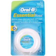 ORAL_B Зубная нить Essential floss мятная 50м