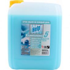 """Крем-мыло жидкое """"Help"""" (Хелп)  Морской бриз 5 литров/Альфатехформ"""