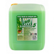 """Крем-мыло жидкое .""""Help"""" (Хелп) Зеленый чай 5 литров/Альфатехформ"""