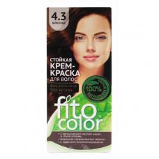 """Стойкая крем-краска для волос серии """"Fitocolor""""/фитоколор/, тон 4.3 шоколад 115мл/Фитокосметик"""