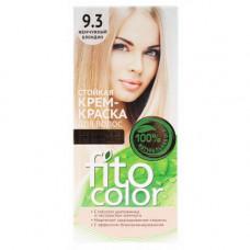 """Стойкая крем-краска для волос серии """"Fitocolor""""/фитоколор/, тон 9.3 жемчужный блондин 115мл/фитокосметик"""