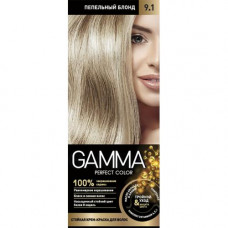 """1836020 """"GAMMA Perfect color"""" (Гамма) 9.1 пепельный блонд  Свобода"""