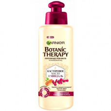 """Garnier Botanic Therapy (Гарньер Ботаник терапи) Укрепляющее крем-масло """"Касторовое масло и миндаль"""" для ослабленных волос, склонных к выпаданию, 200 мл"""