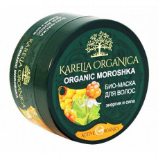 """420604 Био-маска """"Karelia """" для волос «Organic Moroshka» энергия морошка 220м"""